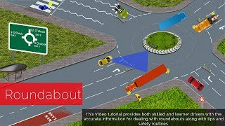 Download How To Negotiate Roundabouts Video