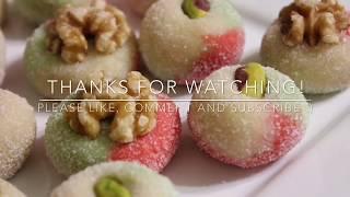 Download Tunisian almond ball/ boules d'amandes Tunisienne/ حلويات العيد 🌙⭐️🌙 كعابر اللوز التونسية Video