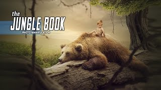Download Making The Jungle Book Manipulation Scene Effect In Photoshop Video