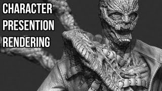 Download Zbrush tutorial: How to quickly present your characters Video