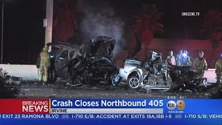 Download Two Killed In Fiery I-405 Wrong-Way Wreck In Irvine Video
