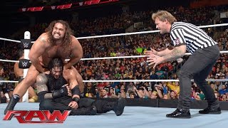 Download Roman Reigns vs. Rusev – Special Guest Referee Chris Jericho: Raw, January 18, 2016 Video