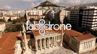 Download Η Ακαδημία & Πανεπιστήμιο από ψηλά - Academy, University, Library - Athens, drone video Video