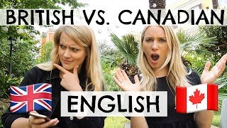 Download BRITISH VS. CANADIAN ENGLISH! Video