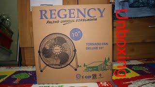 Download 10″ Regency HV tornado desk fan deluxe | unboxing Video