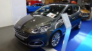 Download 2018 Ford Fiesta Vignale 1.0 Ecoboost 100 - Exterior and Interior - Salon Automobile Lyon 2017 Video