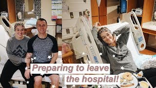 Download FETOSCOPIC SURGERY VLOG PT. 2 | Getting to eat and walk for the first time + the pain of surgery Video