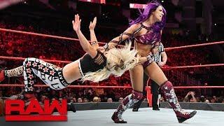 Download Sasha Banks, Ember Moon & Alexa Bliss vs. The Riott Squad: Raw, June 4, 2018 Video