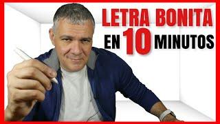 Download CÓMO MEJORAR TU LETRA Y TENER LETRA BONITA EN 10 MINUTOS Video