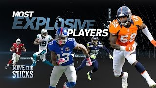 Download Top 5 Most Explosive Players in the NFL | Move the Sticks | NFL Video