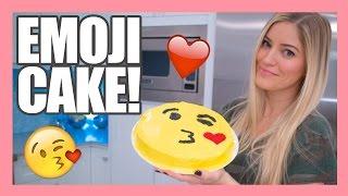 Download How to make a Valentine's Emoji Kiss Cake!   iJustine Video