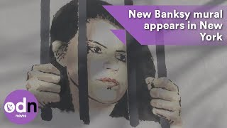 Download New Banksy mural appears in New York Video