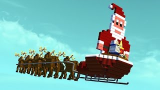 Download THE FLYING SANTA SLEIGH! (Scrap Mechanic Workshop) Video