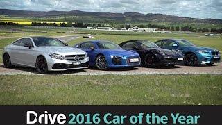 Download 911 Carrera S v BMW M2 v Audi R8 v C63 S Coupe | 2016 Best Performance Car Over $60,000 Video