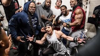 Download Live Workout: Mike Rashid, Kai Greene, Dana Linn Bailey, William Bonac, Ulisses Destroying Back Video