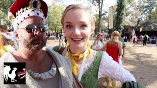 Download Burnie Vlog: Quests at the Renaissance Faire | Rooster Teeth Video