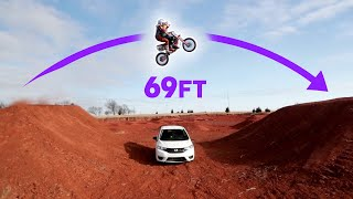 Download Tandem Dirtbike Jump with Ronnie Mac! Video