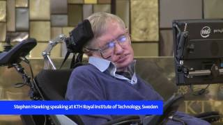 Download Stephen Hawking presents new theory on black holes at KTH, 2015 Video