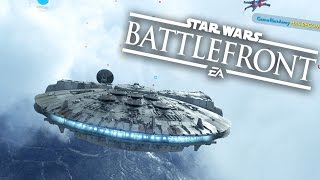 Download MILLENNIUM FALCON - Star Wars Battlefront Gameplay - Fight Squadron #3 Video