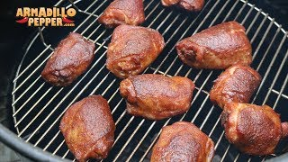 Download Butter-Bath Chicken Thighs (Competition Chicken) on the Pit Barrel Cooker with Jack Stack BBQ Sauce Video