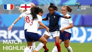 Download France v England - FIFA U-20 Women's World Cup France 2018 - Match 31 Video