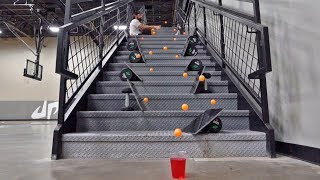 Download Ping Pong Trick Shots 4 | Dude Perfect Video
