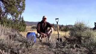 Download Survival Cache Deployment - Burying a Survival SHTF Bugout Cache in the Desert Video