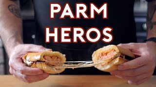 Download Binging with Babish: Parm Heros from Lots of Things Video