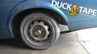 Download We Made A TIRE Out Of Duct Tape Video