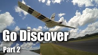 Download HobbyKing Go Discover wing (part 2) flight test Video