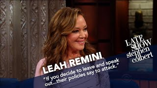 Download Leah Remini Argues That Scientology Isn't A Religion Video