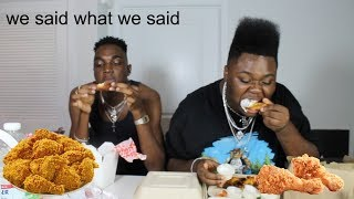 Download CHICKEN WINGS MUKBANG w. RICKEY THOMPSON Video
