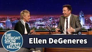 Download Ellen DeGeneres Gave Jimmy a Big Scare Video