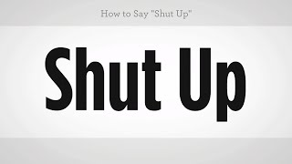 Download How to Say ″Shut Up″ | Mandarin Chinese Video