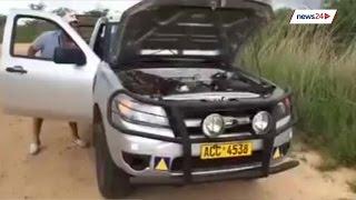 Download WATCH: Zim farmer pries huge python from bakkie Video