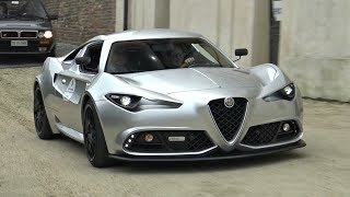 Download Alfa Romeo Mole Costruzione Artigianale 001 - Start Up, Exhaust, Driving & Overview! Video