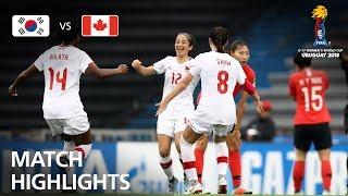 Download Korea Republic v Canada - FIFA U-17 Women's World Cup 2018™ - Group D Video