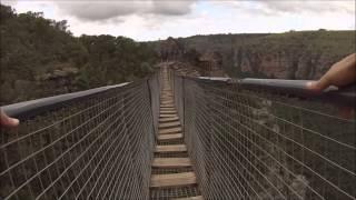 Download Suspension Bridge Lake Eland South Africa Video