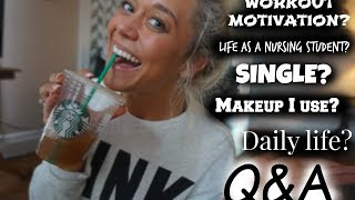 Download Ask A Nursing Student Q&A: Motivation, Classes, Fitness, Single? Video