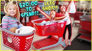 Download $20 TARGET HAUL CHALLENGE?! WILL THEY GO OVER BUDGET?! Video