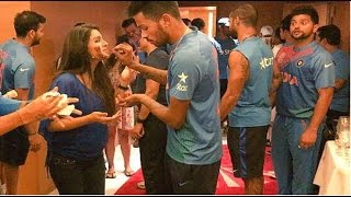Download Harbhajan Singh's Wife Geeta Basra Celebrates Birthday With India Cricket Team Video