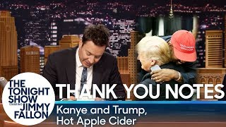 Download Thank You Notes: Kanye and Trump, Hot Apple Cider Video