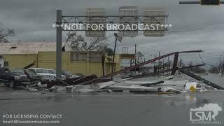 Download 10-10-18 Panama City, FL - Hurricane Michael Causes Catastrophic Damage.mp4 Video