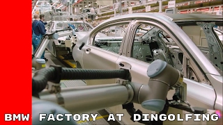 Download BMW Factory Humans & Robots Work Together At Dingolfing Plant Video