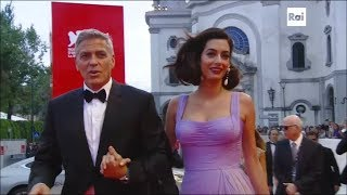 Download Venezia 74 - Il Red Carpet di George e Amal Clooney Video
