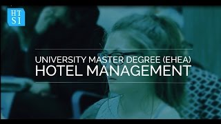 Download University Master Degree in Hotel Management Video