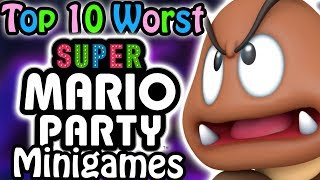 Download Top 10 Worst Super Mario Party Minigames Video