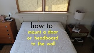 Download How to ● Easily Attach a Headboard to the Wall with a French Cleat Video