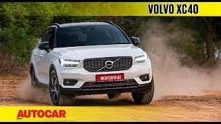 Download Volvo XC40   India Drive Review   Autocar India Video