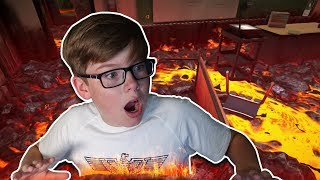 Download THE SCHOOL IS ON FIRE!! (Hot Lava) Video